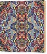 The Joy Of Design Mandala Series Puzzle 1 Arrangement 5 Wood Print