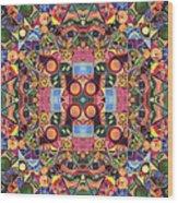 The Joy Of Design Mandala Series Puzzle 2 Arrangement 1 Wood Print