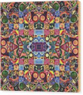 The Joy Of Design Mandala Series Puzzle 2 Arrangement 9 Wood Print