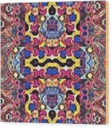 The Joy Of Design Mandala Series Puzzle 3 Arrangement 4 Wood Print
