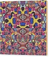 The Joy Of Design Mandala Series Puzzle 3 Arrangement 6 Wood Print