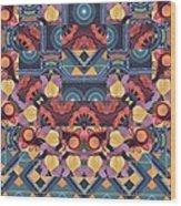 The Joy Of Design Mandala Series Puzzle 5 Arrangement 1 Wood Print