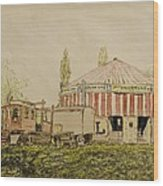 The Joy Wheel, Mitcham Wood Print