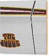 The Judge1969 Pontiac Gto  Wood Print