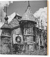 The Junk Castle Iv Wood Print