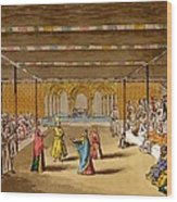 The Junumushtoomee, 19th Century Wood Print
