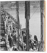 The Katah Bridge Wood Print