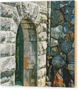 The Keep Biltmore Asheville Nc Wood Print by William Dey
