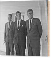 The Kennedy Brothers Wood Print