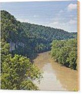 The Kentucky River Wood Print
