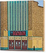 The Kessler Movie Theater Wood Print