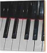 The Keys Wood Print