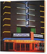 The Kilgore Crim Theater Wood Print
