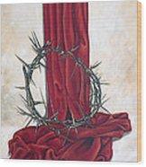 The King's Crown Wood Print by Ilse Kleyn