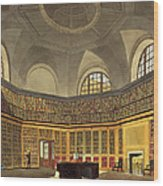 The Kings Library Wood Print