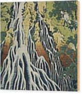 The Kirifuri Waterfall Wood Print
