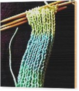 The Knitting Wood Print