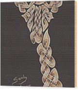 The Knotty Giraffe 2 Wood Print