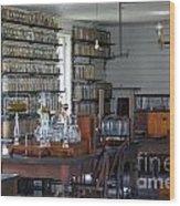 The Laboratory Wood Print