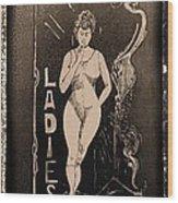 The Ladies Wood Print