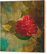The Lady Of The Camellias Wood Print by Loriental Photography