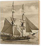 The Lady Washington Ship Wood Print