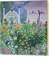 The Laine Garden Wood Print