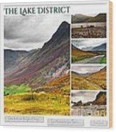 The Lake District Autumn 2 Wood Print