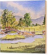 The Lake District - Slater Bridge Wood Print