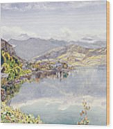 The Lake Of Lucerne, Mount Pilatus Wood Print