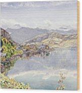 The Lake Of Lucerne, Mount Pilatus Wood Print