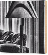 The Lamp In The Lobby Wood Print