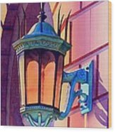 The Lamp On Goodwin Wood Print