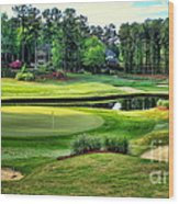 The Landing At Reynolds Plantation Wood Print