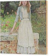 The Last Chore Wood Print