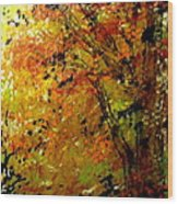 The Last Days Of Autumn Wood Print