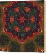 The Last Flower II Wood Print