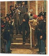 The Last Moments Of John Brown Wood Print