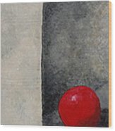 The Last Red Balloon Wood Print