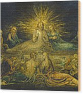 The Last Supper Wood Print by William Blake