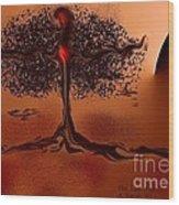 The Last Tree Wood Print