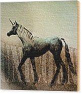 The Last Unicorn Wood Print by Bob Orsillo