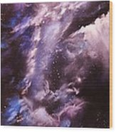 The Lazuras Nebula Wood Print