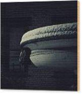The Left Gargoyle Wood Print