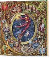The Legacy Of The Devine Tarot Wood Print by Ciro Marchetti