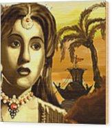 The Legend Actress Madhubala Wood Print
