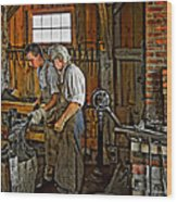The Lesson Wood Print