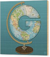 The Letter G Wood Print