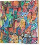 The Letter Tav 2 Wood Print