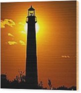 The Light Of Cape May Wood Print